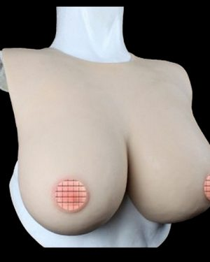 FEMALE BREAST SUIT WITH HANGER
